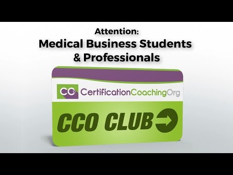 Medical Billing and Coding Club | CCO Club for Medical Business Students and Professionals