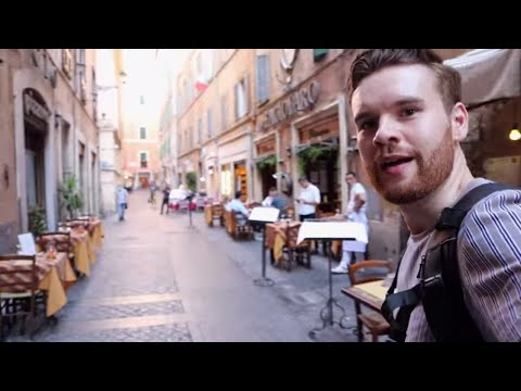 Visiting a Strange ROME Without Tourists, Post Lockdown Italy 🇮🇹