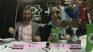 Detroit Derby Girls v Rat City Rollergirls: 2013 WFTDA D1 Playoffs in Salem