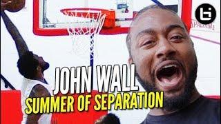 John Wall CUT in High School?! KING of the City