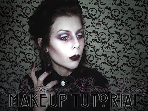 BURTONESQUE VICTORIAN LADY - Makeup Tutorial | BLACKATCVLT - YouTube