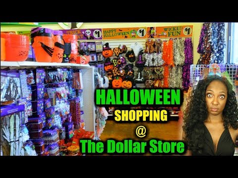 Shopping For Halloween Costumes & Treats At The Dollar Store 2018 | NikkiBeautyBliss