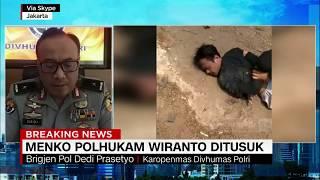 Begini Kronologi Penyerangan Terhadap Menkopolhukam Wiranto