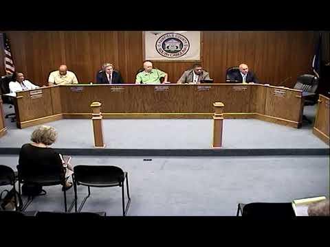 Fairfield County Council Meeting 8-28-2017