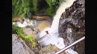 Rafting & Abseiling in Adventure Capital San Gil, Colombia (Nov, 2013)