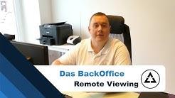 Was ist das BackOffice   Remote Viewing   Aufgaben   Targets   Üben