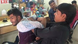 Intense Body Massage (back crack) (neck crack) Indian | Episode 1 | ASMR No Talking