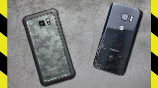 Galaxy S7 Active vs. Galaxy S7 Drop Test!