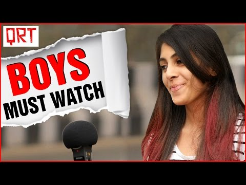 Thumbnail: Are Boys THARKI ? | Girls celebrate NO SHAVE November | Quick Reaction Team