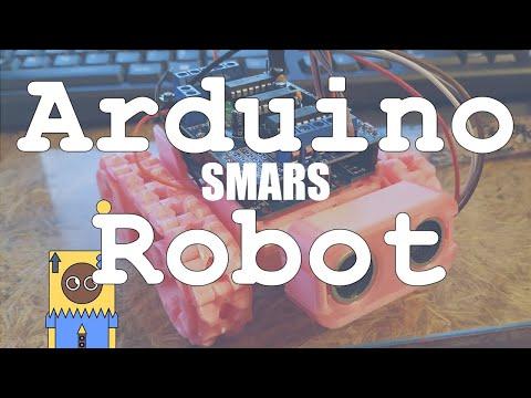 smars-robot-simple-3dprinted-arduino-robot