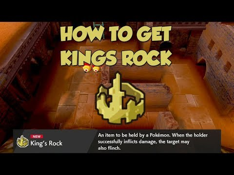 How To Get Kings Rock In Pokemon Sword And Shield