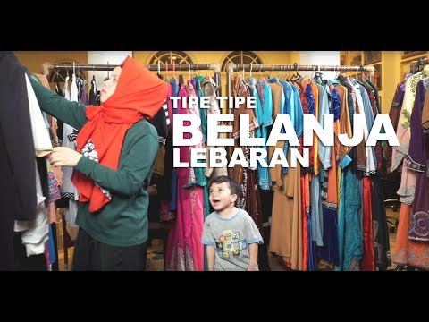 TIPE2 BELANJA LEBARAN | Gen Halilintar