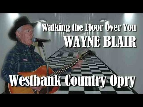 Wayne Blair with the Westbank Country Opry