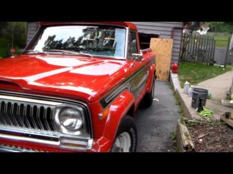 76' Jeep J10 Honcho Pickup Truck