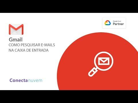 Como pesquisar e-mails na caixa de entrada do Gmail