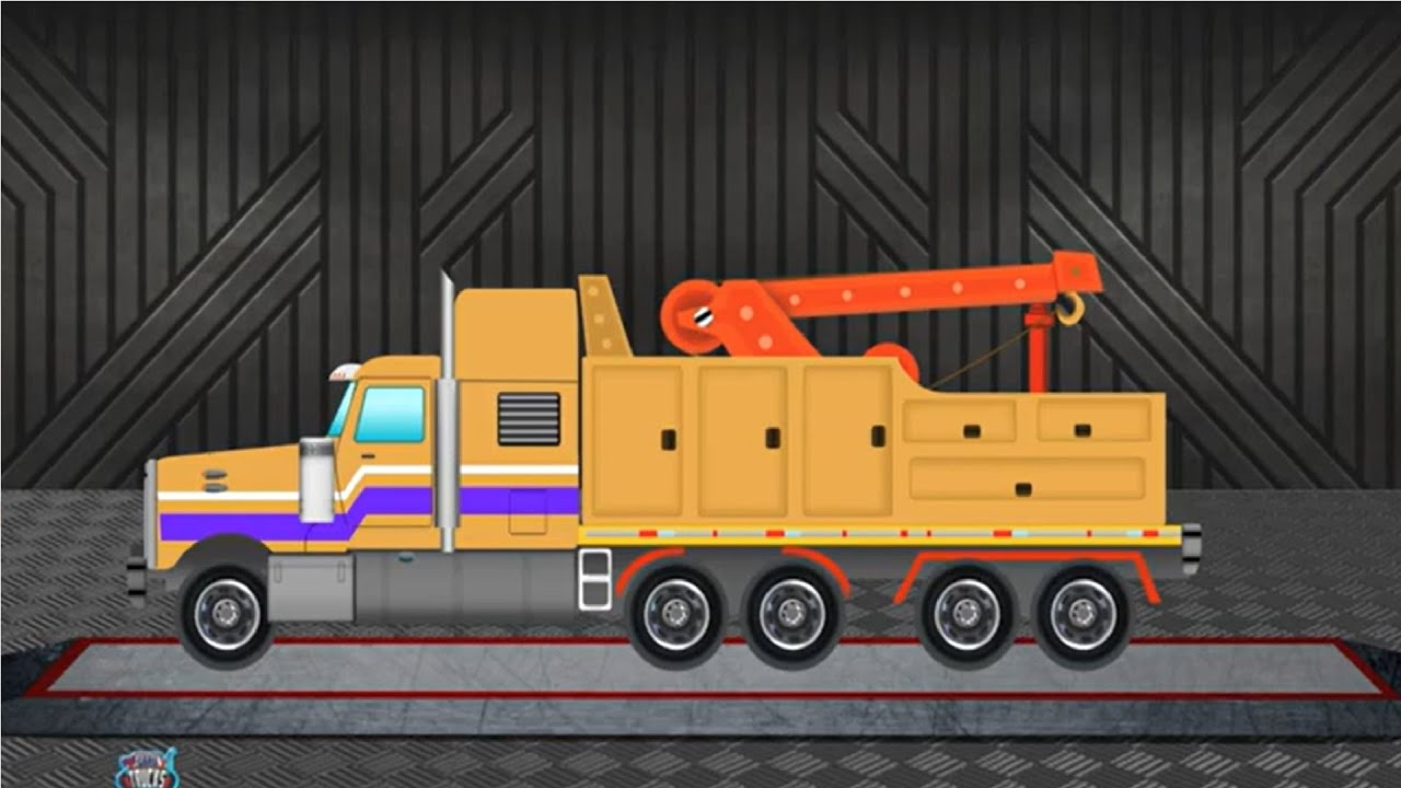 Auto Transport Truck | Kids Car & Trucks | Kids Car & Truck Formation & Uses | Vehicles Videos