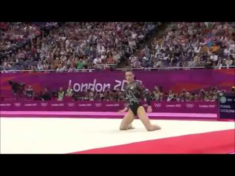Cătălina Ponor ROU EF FX 2012 London Olympic Games Travel Video