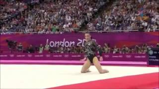 Cătălina Ponor ROU EF FX 2012 London Olympic Games