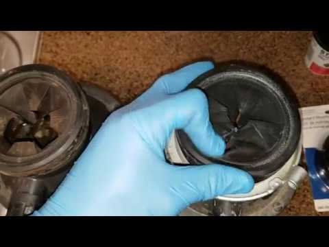 Replace Garbage Disposal Gasket Splash Guard