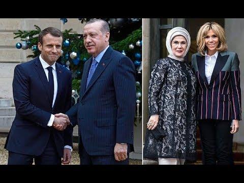 Erdogan w arns Macron Turkey is tired of waiting on EU