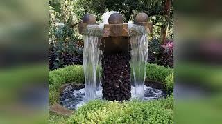 Фонтаны как интересное и яркое украшение участка или сада
