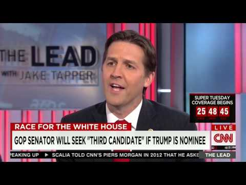 Ben Sasse Explains Why he Went #NeverTrump