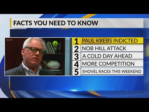 February 7 Morning Rush: Former UNM Athletic Director Paul Krebs Faces 5 Felony Charges