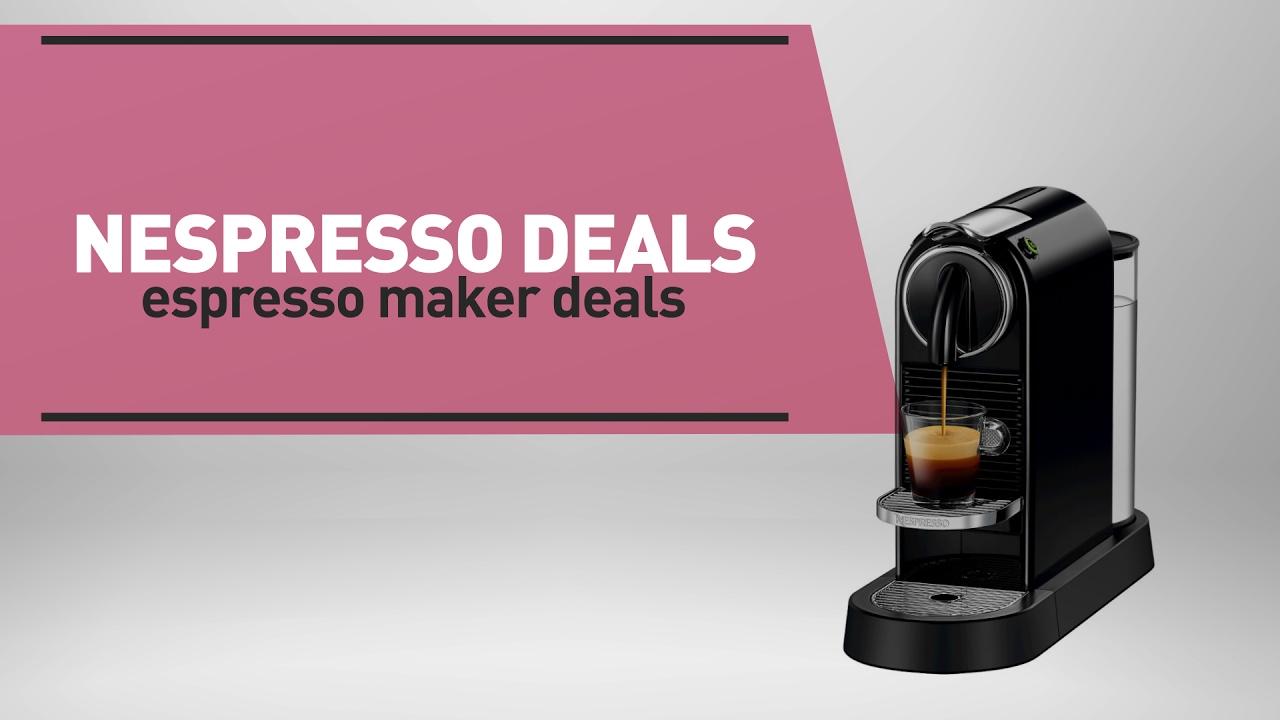 Coffee Machine Deals Nespresso Deals Espresso Maker Deals Great Deal On Nespresso