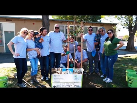 Tree Planting at Hubbard Street Elementary School