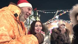 «Санта Дубас», Алекс Дубас, Мари Армас - Рождественская ярмарка на Красной площади