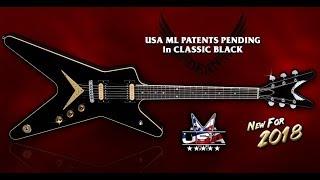 NAMM 2018 Dean Guitars-Patents Pendings ML USA
