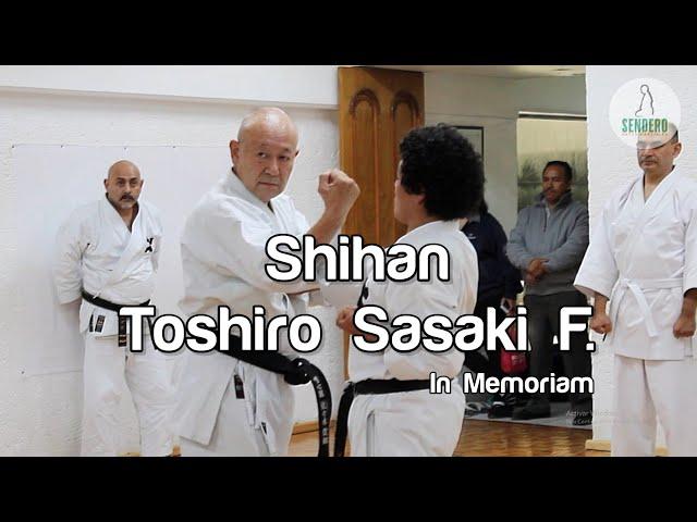 Shihan Toshiro Sasaki Fujino - In Memoriam