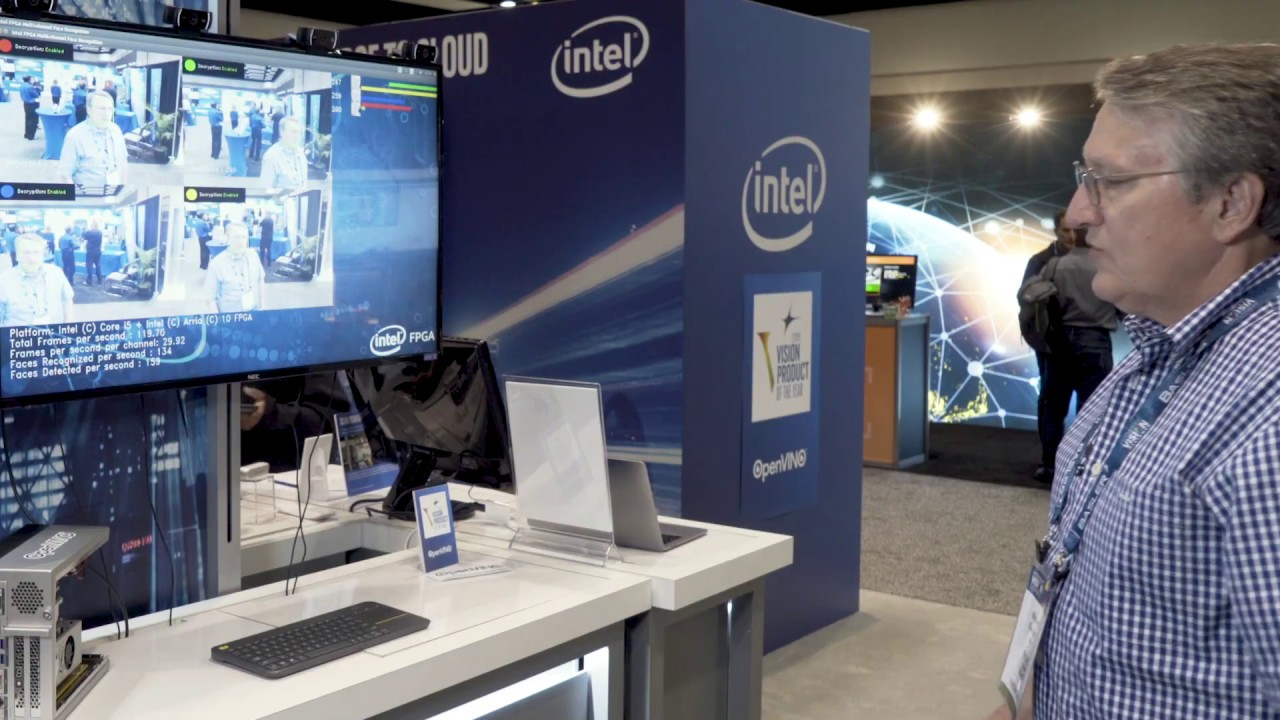 Intel Demonstration of Vision Inference Acceleration with FPGAs