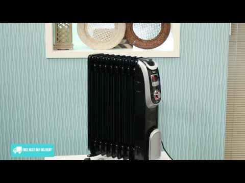 Midea NY2009-13A1L Electric Oil Column Heater Overview - Appliances Online