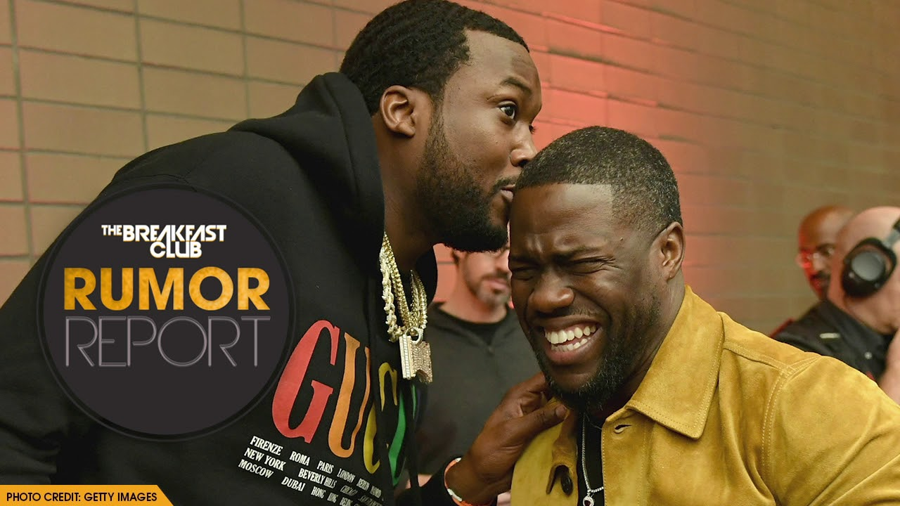Meek Mill and Kevin Hart Give Motivational Toast at Pre-Grammy Brunch
