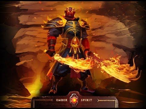 видео: ember spirit/earth spirit dota 2 - Обзор героеев, обзор скилов.