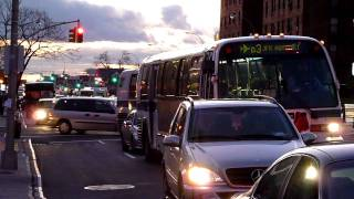 mta nyct bus nova rts 5037 q3 at hillside avenue 165th street in queens