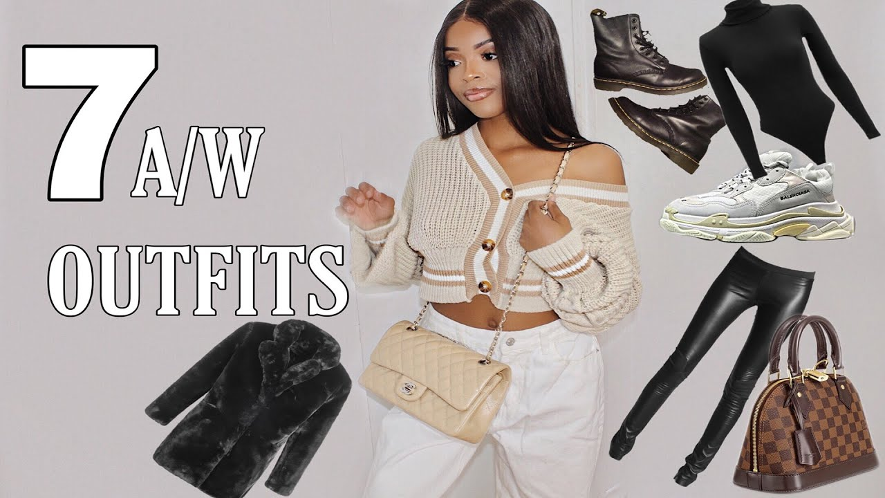 [VIDEO] - 7 A/W OUTFITS 2019 | comfy/ casual outfit ideas! 7