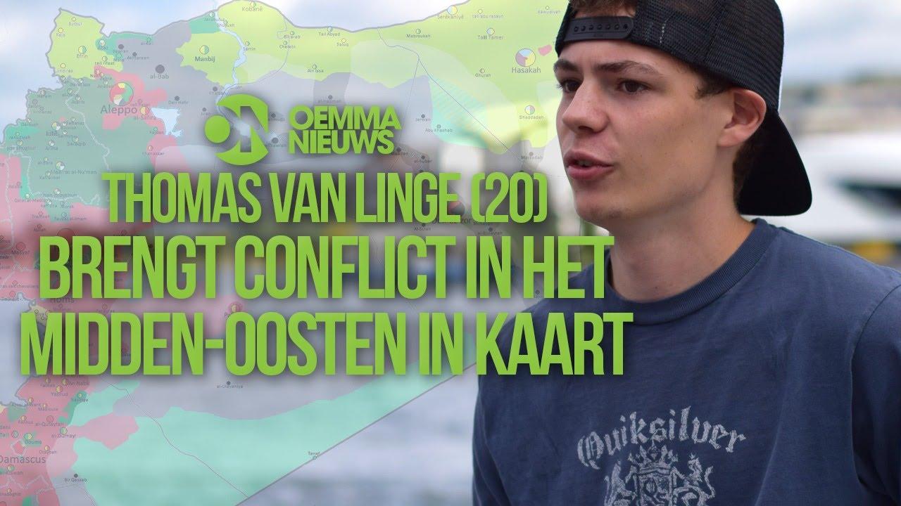 Thomas Van Linge.Thomas Van Linge 20 Brengt Conflict In Het Midden Oosten