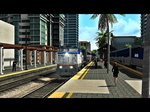 Train Simulator 2017- Amtrak 564 to San Diego (Dash 8-32BWH)