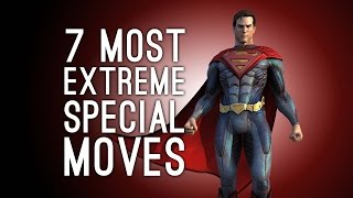 The 7 Most Over The Top Special Moves That Weren't Strictly Necessary