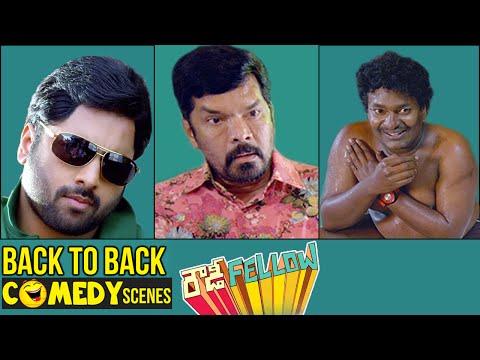 Rowdy Fellow Telugu Full Movie   Back to Back Comedy Scenes   Nara Rohit   Vishakha Singh   Sunny MR