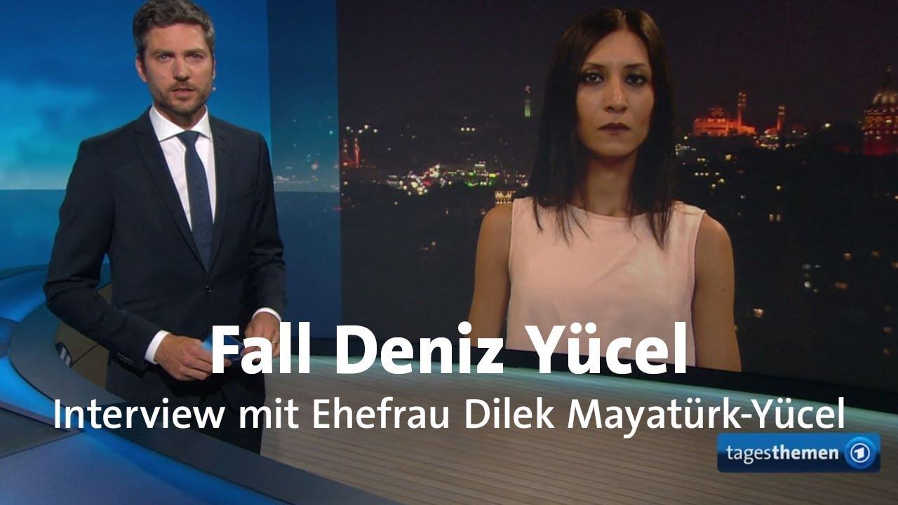 Deniz Yücel Interview Mit Ehefrau Dilek Mayatürk Yücel Youtube