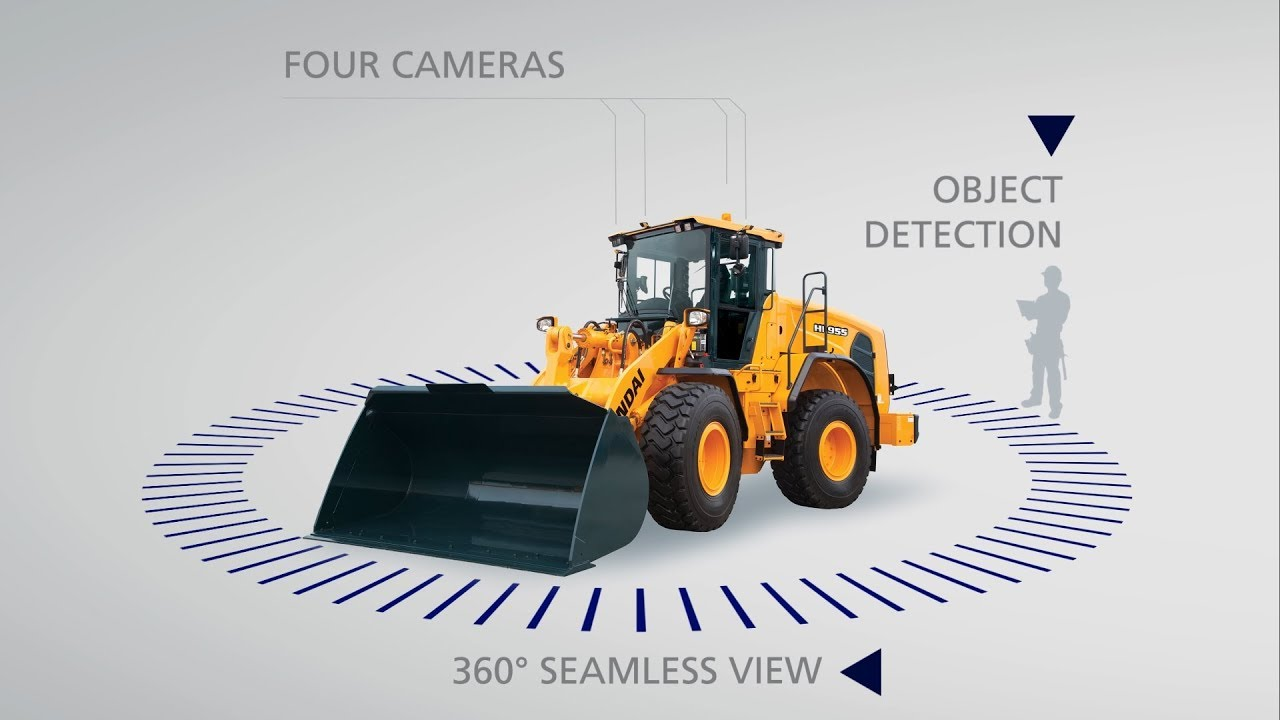 Hyundai Construction AAVM All Around View Monitoring End Down Time