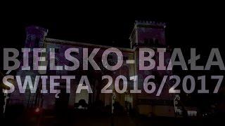 Bielsko-Biała Święta 2016 2017 Oświetlenie świąteczne dekoracje motion timelapse dji osmo 1080p