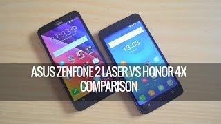 ASUS Zenfone 2 Laser vs Honor 4X- Detailed Comparison   Techniqued