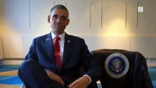 Yaab: Nin muuqaalkiisa aan laga aqoon Madaxweyne Obama.