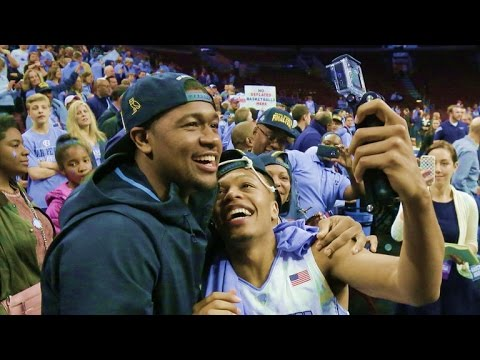 Brothers compete on college basketball
