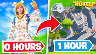 I gave 5 *FORTNITE BUILDERS* 1 Hour to build me ANYTHING...
