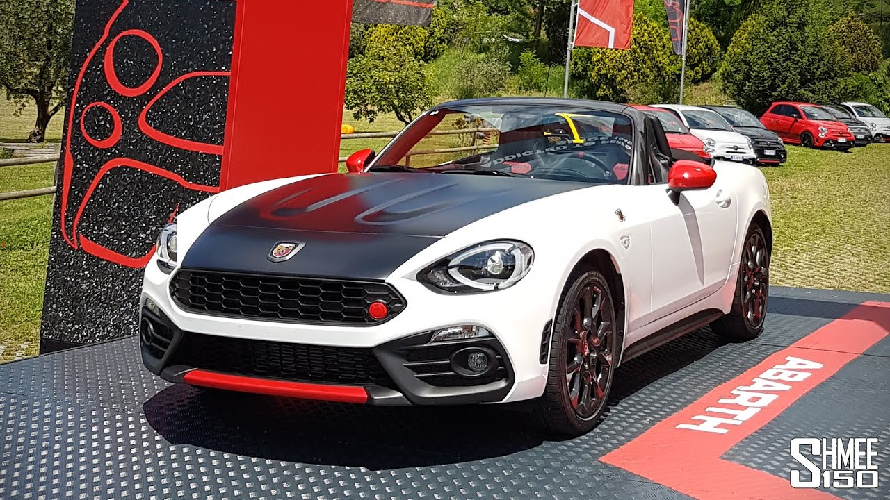 how fun is the new abarth 124 spider youtube. Black Bedroom Furniture Sets. Home Design Ideas